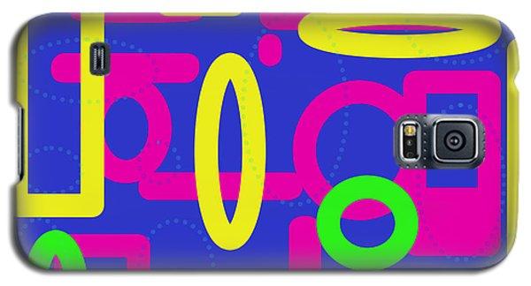 Bold Multicoloured Design Galaxy S5 Case