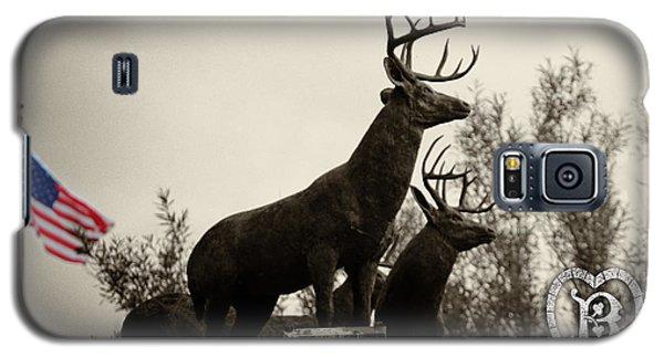 Boldt Castle Deer Galaxy S5 Case