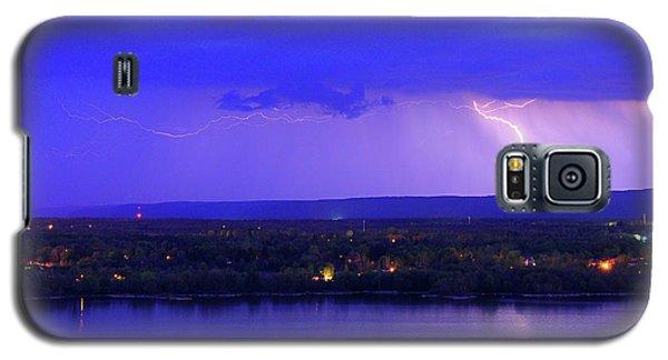 Bolt Over Gatineau Hills  Galaxy S5 Case