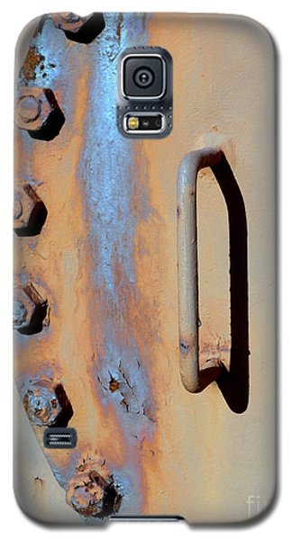 Galaxy S5 Case featuring the photograph Bolted Hatch by Robert Riordan