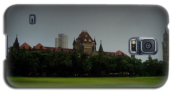 Galaxy S5 Case featuring the photograph Bombay High Court by Salman Ravish