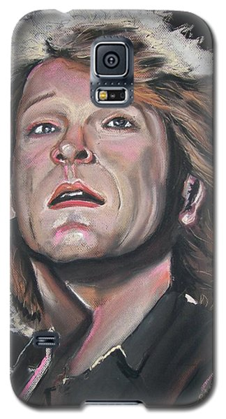 Galaxy S5 Case featuring the pastel Bon Jovi by Peter Suhocke
