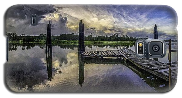 Bon Secour Panorama Galaxy S5 Case by Michael Thomas