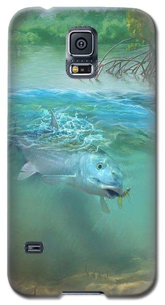 Bone Fish Galaxy S5 Case