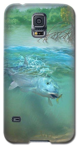 Bone Fish Galaxy S5 Case by Rob Corsetti