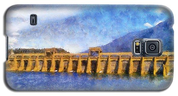 Galaxy S5 Case featuring the digital art Bonneville Dam by Kaylee Mason
