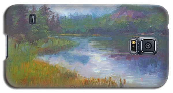 Bonnie Lake - Alaska Misty Landscape Galaxy S5 Case