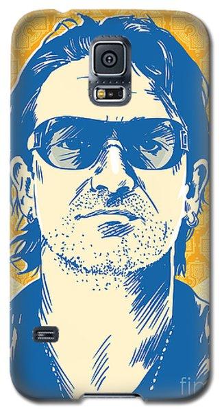 Bono Pop Art Galaxy S5 Case by Jim Zahniser