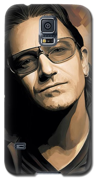 Bono U2 Artwork 2 Galaxy S5 Case by Sheraz A