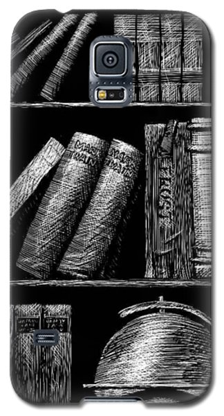 Books On Shelves Galaxy S5 Case