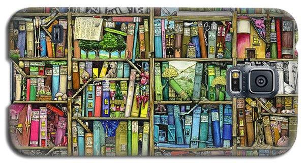 Bookshelf Galaxy S5 Case by Colin Thompson