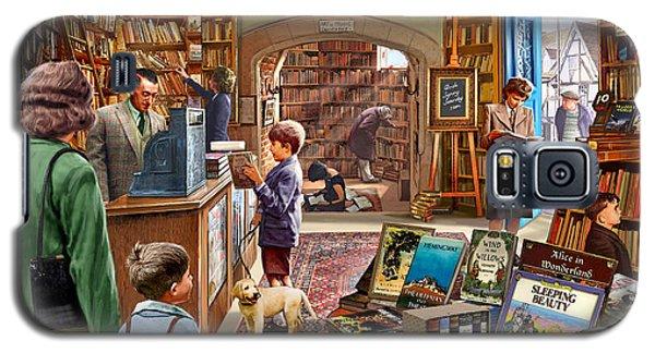 Bookshop Galaxy S5 Case by Steve Crisp