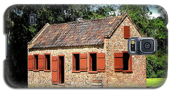 Boone Hall Plantation Slave Quarters Galaxy S5 Case