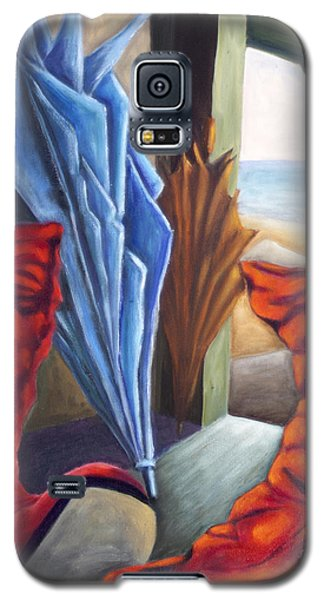 Boots And 'brellas Galaxy S5 Case by AnneKarin Glass
