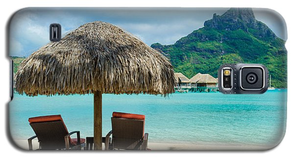 Bora Bora Beach Galaxy S5 Case