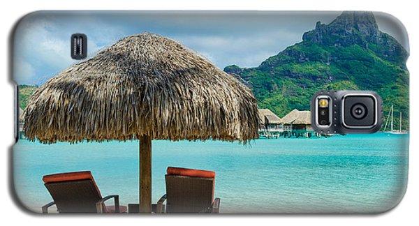 Bora Bora Beach Galaxy S5 Case