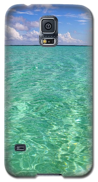 Bora Bora Green Water II Galaxy S5 Case