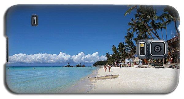 Boracay Beach Galaxy S5 Case by Joey Agbayani