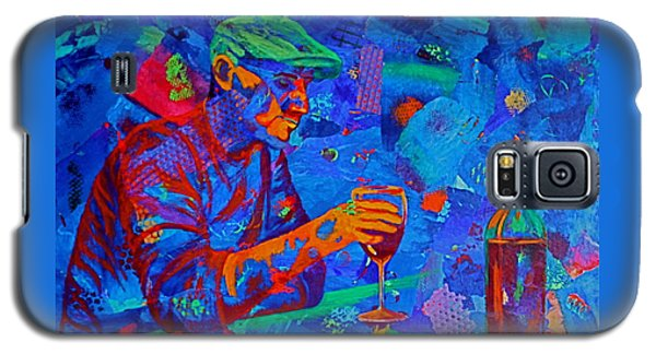 Galaxy S5 Case featuring the painting Bordeaux by Nancy Jolley