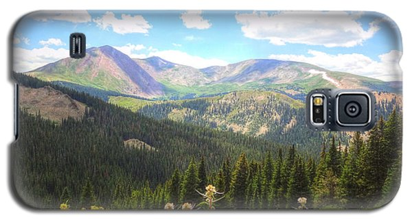 Galaxy S5 Case featuring the photograph Boreas Pass Summer by Lanita Williams
