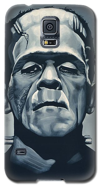 Boris Karloff As Frankenstein  Galaxy S5 Case by Paul Meijering