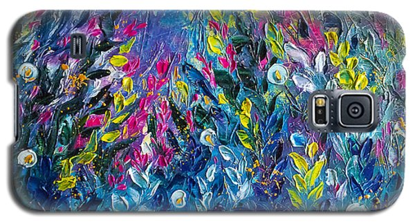 Born From Chaos Abstract Floral Art Galaxy S5 Case