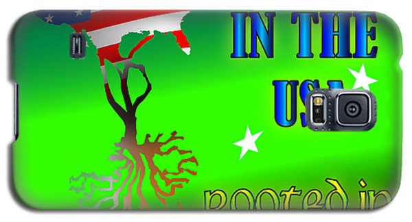 Born In The Usa Rooted In Ireland Galaxy S5 Case