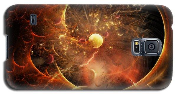 Born In The Vortex - The New Machine Galaxy S5 Case by Rhonda Strickland