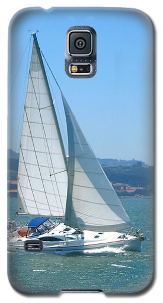 Born To Sail Galaxy S5 Case by Connie Fox
