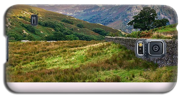 Galaxy S5 Case featuring the photograph Borrowdale Valley In The Lake District by Jane McIlroy