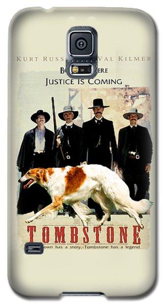 Borzoi Art - Tombstone Movie Poster Galaxy S5 Case