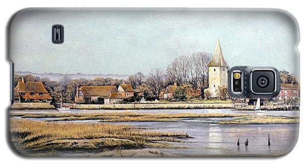 Galaxy S5 Case featuring the painting Bosham Harbour by Rosemary Colyer