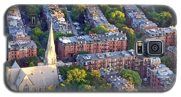 Galaxy S5 Case featuring the photograph Boston Church by Cheryl Del Toro
