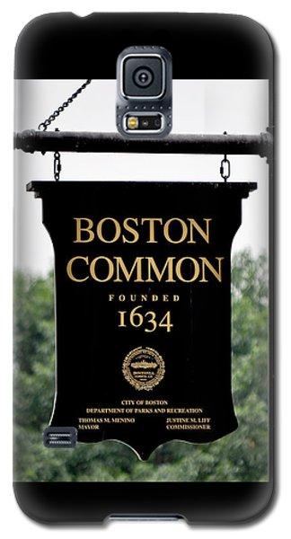 Boston Common Ma Galaxy S5 Case
