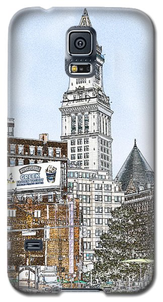 Boston Custom House Tower Galaxy S5 Case