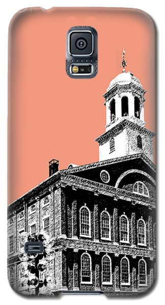 Boston Faneuil Hall - Salmon Galaxy S5 Case by DB Artist
