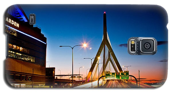 Boston Garden And Bunker Hill Bridge  Galaxy S5 Case