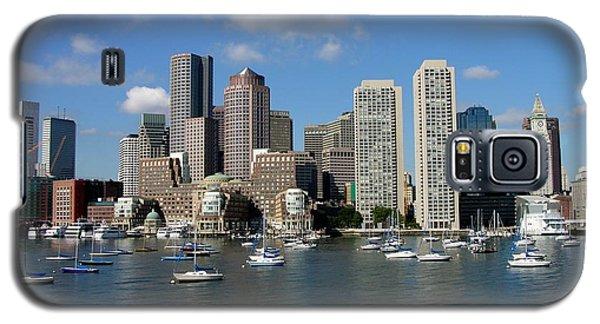Boston Habor Skyline Galaxy S5 Case