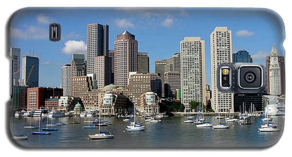 Boston Habor Skyline Galaxy S5 Case
