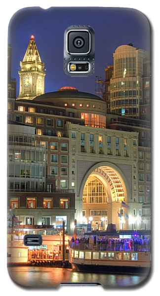 Boston Harbor Party Galaxy S5 Case by Joann Vitali