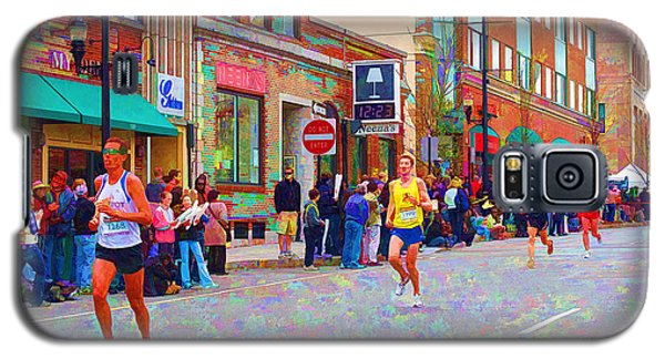 Boston Marathon Mile Twenty Two Galaxy S5 Case by Barbara McDevitt