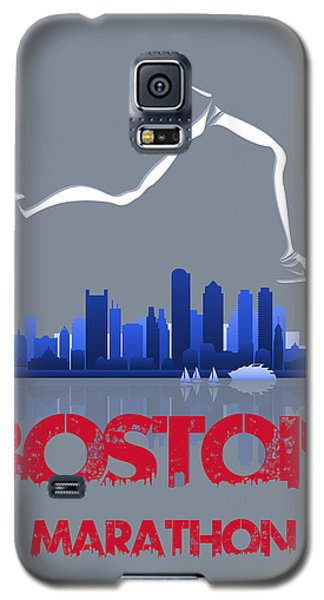 Boston Marathon3 Galaxy S5 Case