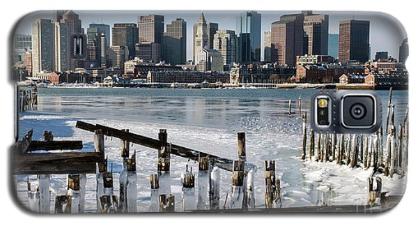 Boston - On The Rocks Galaxy S5 Case by Stephen Flint