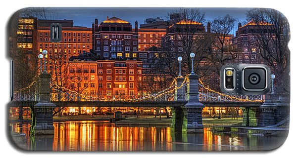 Boston Public Garden Lagoon Galaxy S5 Case by Joann Vitali