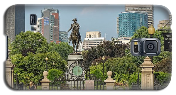 Boston Public Garden Galaxy S5 Case