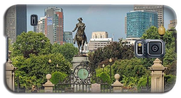 Boston Public Garden Galaxy S5 Case