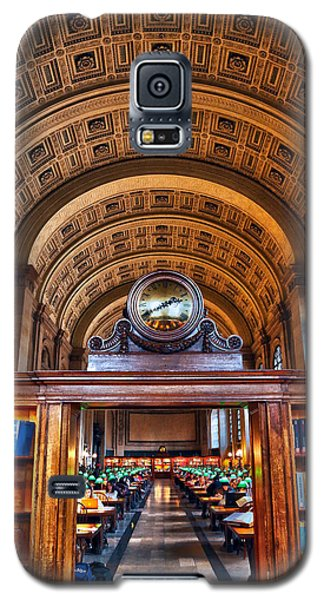 Boston Public Library Galaxy S5 Case by Mitch Cat