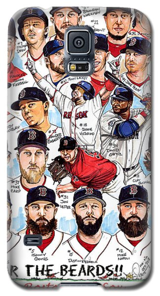 Sport Art Galaxy S5 Case - Boston Red Sox Ws Champions by Dave Olsen