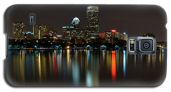 Boston Skyline By Night Galaxy S5 Case