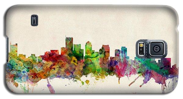 Boston Galaxy S5 Case - Boston Skyline by Michael Tompsett